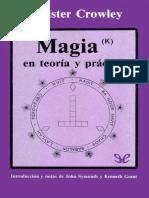 Magia(κ) en Teoria y Practica-holaebook