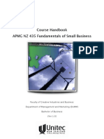 Fundamentals of Small Business - Course Book for APMG NZ435