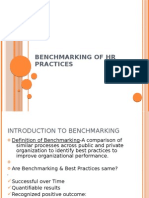 BENCHMARKING OF HR PRACTICES