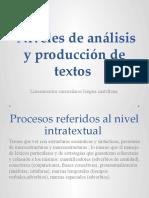 niveles produccion textual