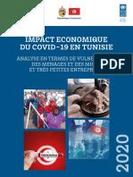 Etude Impact Economique Du Covid en Tunisie