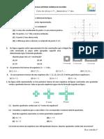 Ficha de Reforço de Matemática n.º1_ 7.ºano