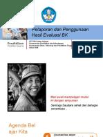 BK PPT Modul 4 Pelaporan Dan Penggunaan Hasil Evaluasi BK