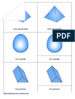 Montessori nomenclature géométrie