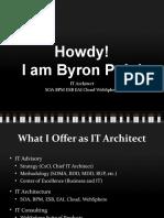 Byron Pojol IT Architect