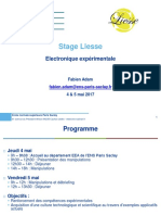 8650 Electroniqueexperimentale 2017 Formation Liesse