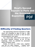 Chapter 15 - Rizal's Second Sojourn in Paris