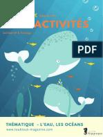 kit  d activites ToukTouk Mag Theme eau et oceans