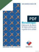 PLAN DE MEJORA CONTINUA DE CHILE