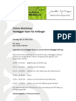 Flyer Online-Workshop März