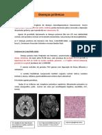 Demencia nas doenças prionicas