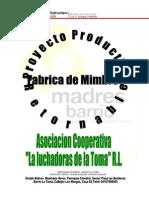 Proyecto Productivo Madres Del Barrio