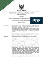 perda no 6 tahun 2009 retribusi perijinan dibidang usaha perdagangan
