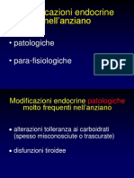 Modificazioni endocrine parafisiologiche dellanziano