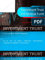 INVESTMENT FUND AND MUTUAL FUND