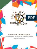 E-book IV Festival das Culturas Unilab