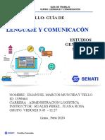 EJERCICIOS COMUNICACION