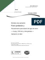 ANSI AWWA C205-18 Español