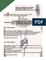 Programa 9 de Marzo 2011