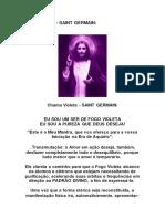 Chama Violeta Saint Germain 40