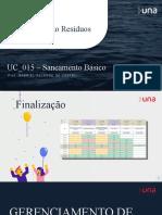 UC015 - Aula5 - Residuo Solido