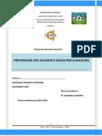 Preventions Des Accidesnts Industriels Majeur