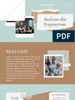Realisme dan Pragmatisme