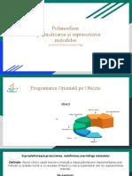 Polimorfism. Supraîncărcarea, suprascrierea metodelor (2)