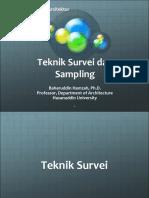 Pertemuan 03 Teknik Survei Dan Sampling