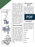The music (triptico-adjectives interrogatives)
