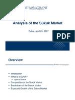 Analysis of Sukuk Market