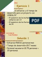 COCOMO II Examples