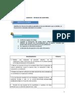 Actividad de aprendizaje - Técnicas de auditoría