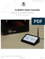 2.4 Using the BoXZY Smart Controller