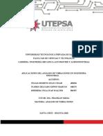 APLICACIONES DEL ANÁLISIS DE VIBRACIONES EN INGENIERÍA INDUSTRIAL-Proyecto final-analisi numerico