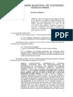 Parecer 004-2021 - PL 001 Credito adicional Suplementar
