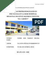 Modelo PLAN DE TRABAJO INTERNADO