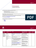 Risk Assessment Example From HSE PDF 512Kb