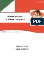 A frase simples e a frase complexa 2