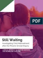 Maltreatment Report