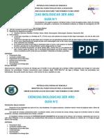 BIOLOGIA 3 AÑO
