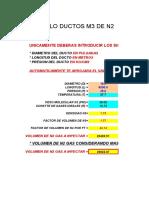 CALCULO DE DUCTOS