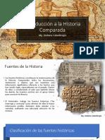 Clase 1 Introducción a La Historia Comparada