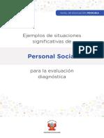 Fasciculo Personal Social PRIMARIA