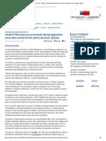 ConJur - AGU promete desengavetar acordos anteriores para ajuizar ações