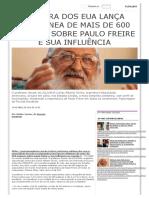 Editora dos EUA lança coletânea de mais de 600 páginas sobre Paulo Freire e sua influência _ Brasil 247
