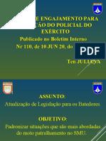 Instrução Atualização de Legislação Para Os Batedores.