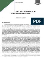 Mann, Michael_La Crisis Del Estado-nación en América Latina