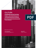 Cultura Emprendedora Organizacional