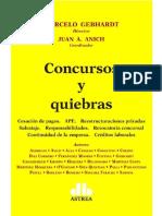 Concursos y Quiebras. 2020. Marcelo Gebhardt Ok